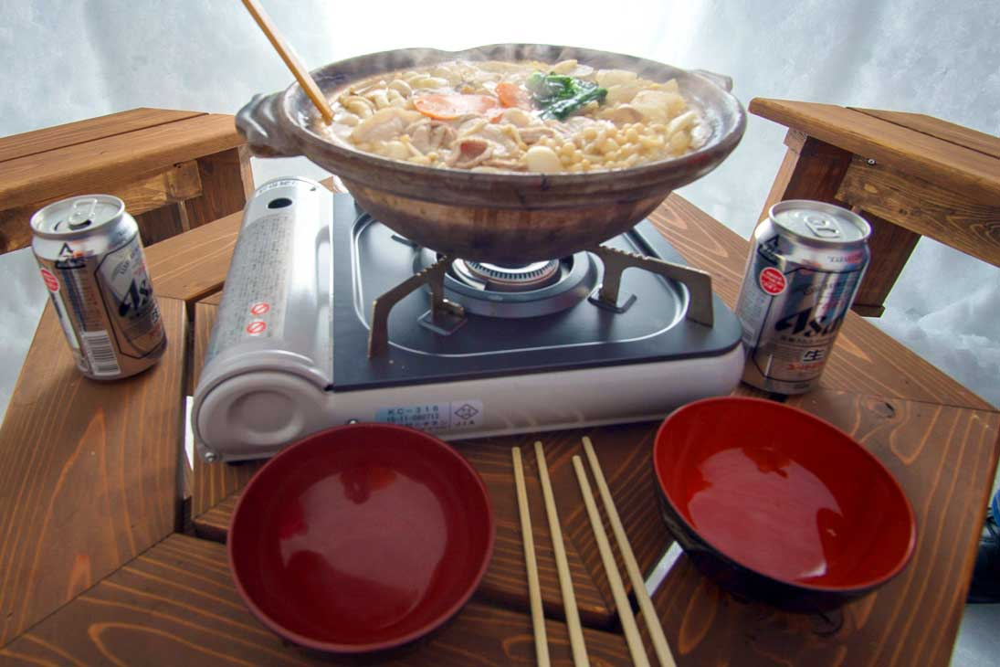 Noroshi-Nabe, or Japanese Hot Pot