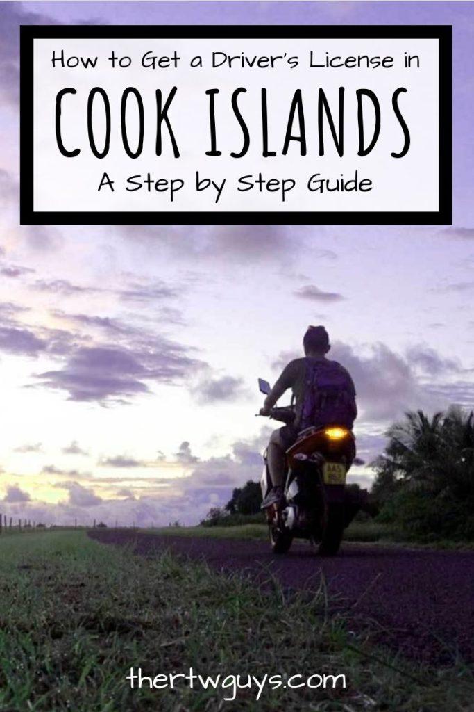 cook islands drivers license pinterest