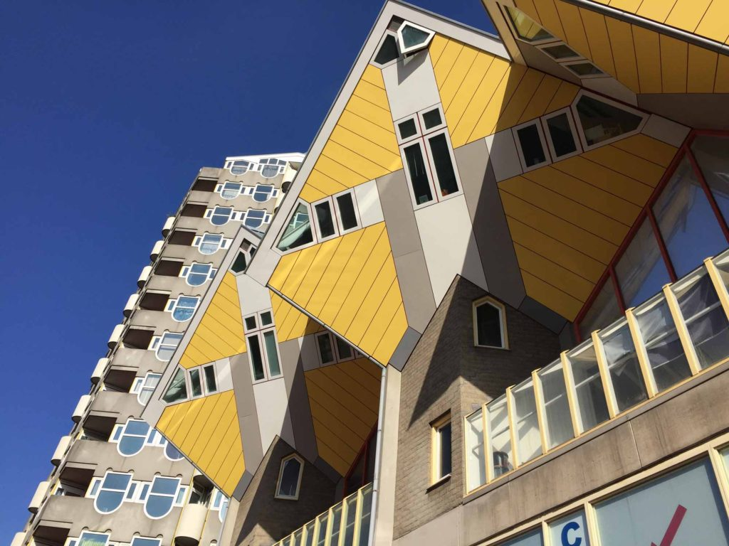 Rotterdam yellow cube houses