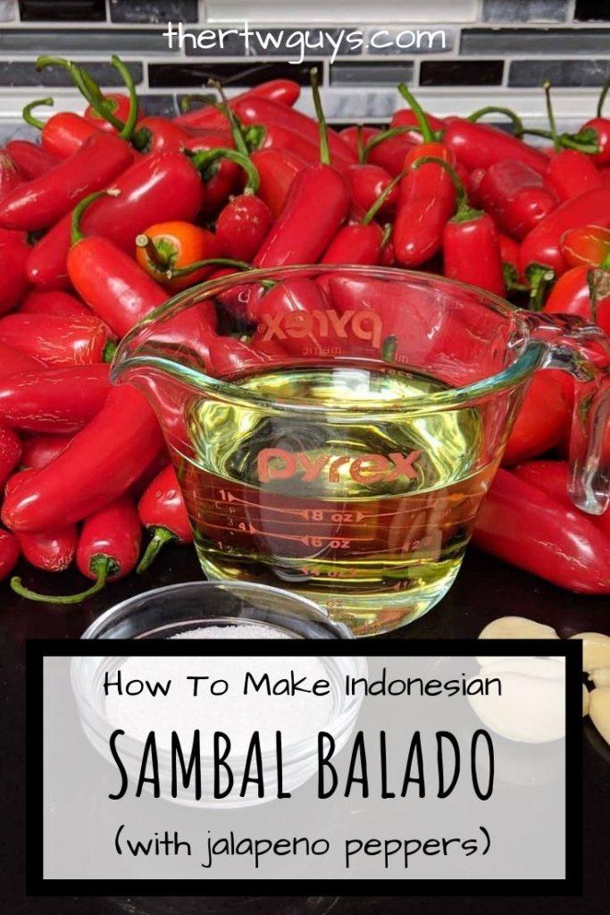 sambal balado pinterest