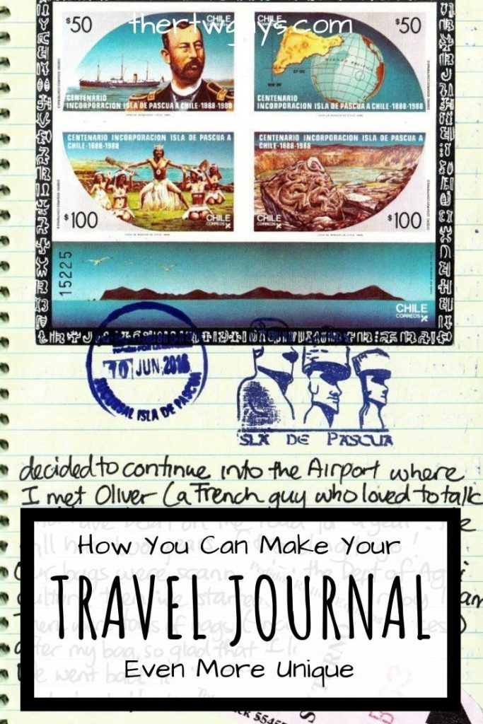 travel journal pinterest
