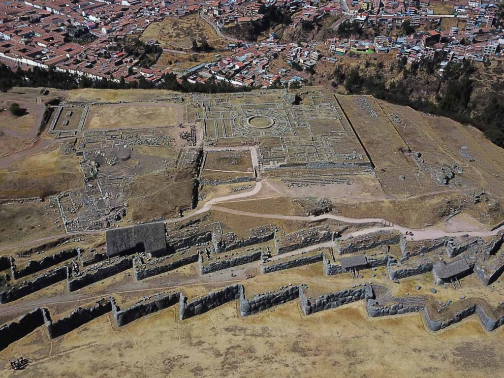 Cusco tourist ticket site #1: Sacsayhoaman