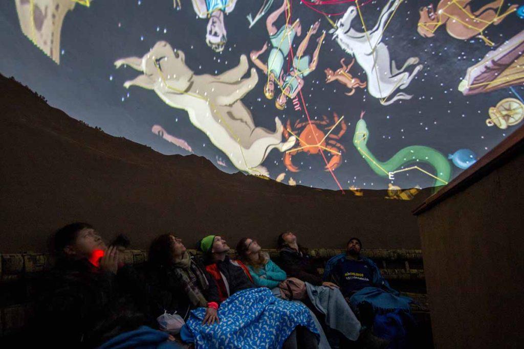 Cusco planetarium theater
