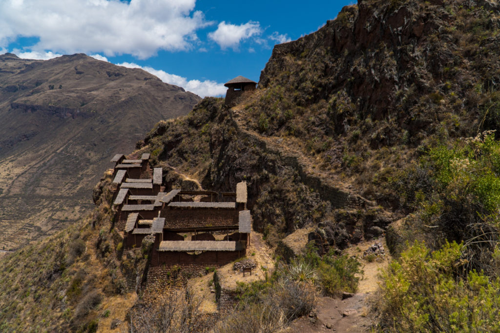 Some of the ruins from above in Pisac